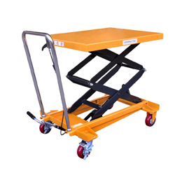 350KG big size manual scissor lift table - Buy portable